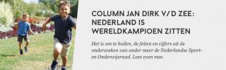 Nederland is wereldkampioen zitten