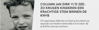 Zo krijgen kinderen een krachtige stem binnen de KNVB